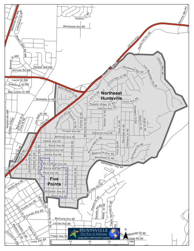 Northeast_FivePoints Study Boundary 3